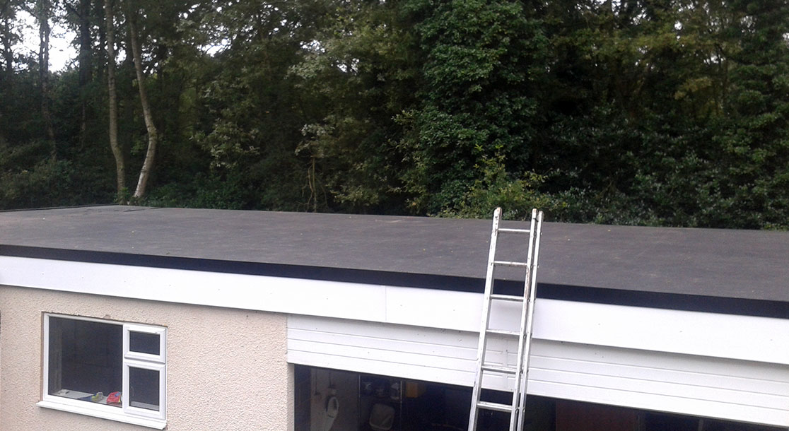EPDM Flat Warm Roof Replacement