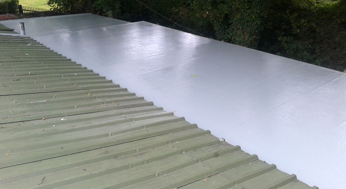 GRP Flat Roof Replacement