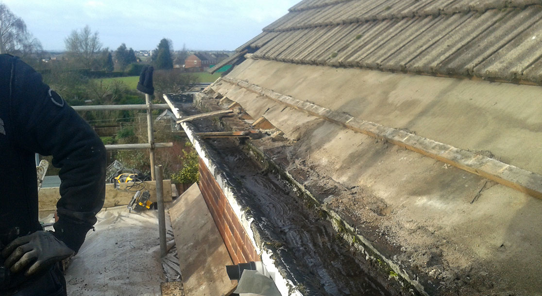 Concrete Finlock Guttering 2